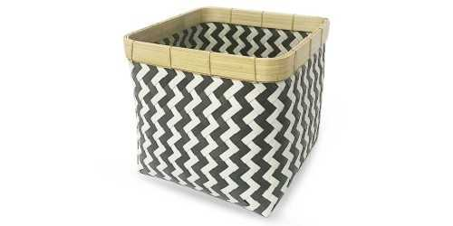 Square Chevry Basket Noir Small DécorStorage And Space Organization