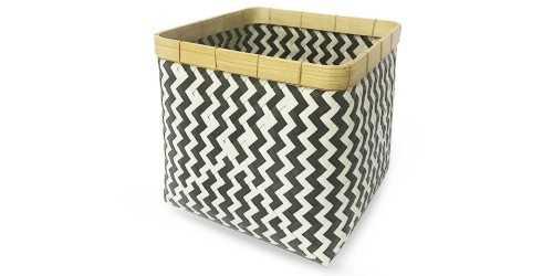 Square Chevry Basket Noir Medium DécorStorage And Space Organization