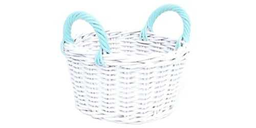 Round Spring Basket Blue Mint DécorStorage And Space Organization