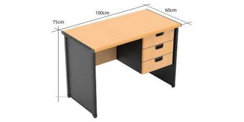 One Working Desk Type C Small OfficeOffice Desks