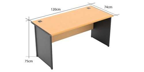 One Working Desk Type B Small OfficeOffice Desks