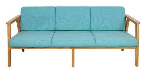Eton Java 5 Seater Living Set Teal Vienna FurnitureSofa And ArmchairsSofas