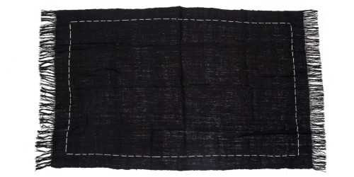 Ladh Throw Black DécorTextiles And Rugs
