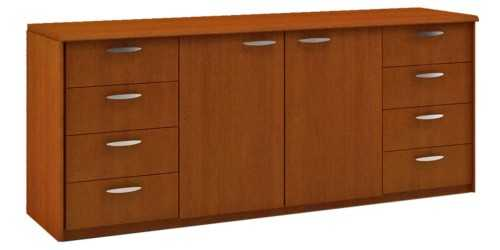 Executive Classe Working File Cabinet Type C Brown OfficeOffice Storage Units