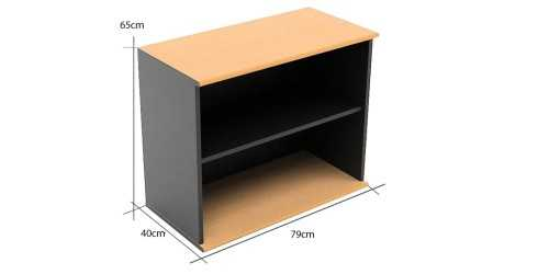 One File Cabinet Type A Wood Leather OfficeOffice Storage Units