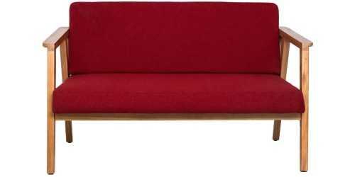 Eton Trois 4 Seater Living Set Ruby Vienna FurnitureSofa And ArmchairsSofas