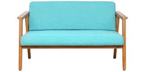 Eton Trois 4 Seater Living Set Teal Vienna FurnitureSofa And ArmchairsSofas