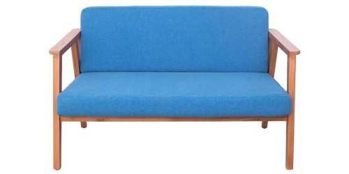 Eton Trois 4 Seater Living Set Blue Jay Vienna FurnitureSofa And ArmchairsSofas