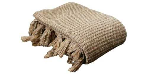 Knitted Blanket Khaki DécorTextiles And Rugs