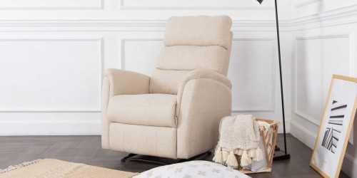 Gana Recliner Armchair Fawn FurnitureSofa And ArmchairsArmchairs
