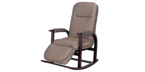 Akio Rocking Recliner Armchair Chocolate FurnitureSofa And ArmchairsArmchairs