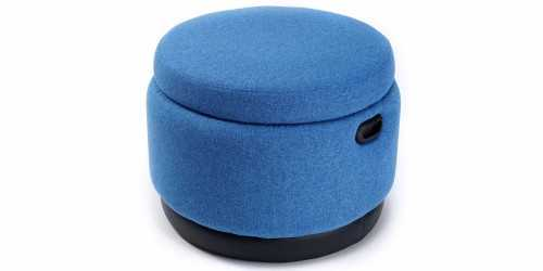 Jabba Storage Ottoman Blue Jay Vienna FurnitureTables And ChairsStools