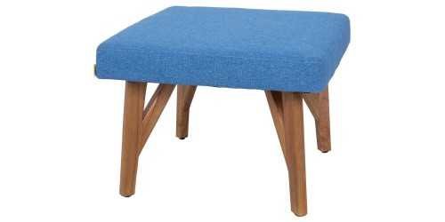 Eton Ottoman Blue Jay Vienna FurnitureTables And ChairsStools