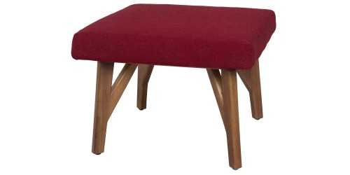 Eton Ottoman Ruby Vienna FurnitureTables And ChairsStools