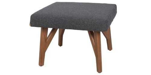 Eton Ottoman Graphite Vienna FurnitureTables And ChairsStools