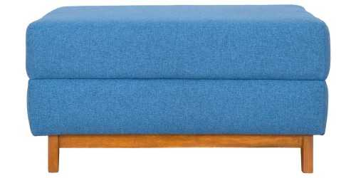 Toril Ottoman Blue Jay Vienna FurnitureTables And ChairsStools