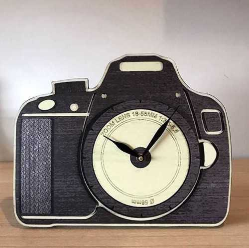 Camera Table / Wallclock DécorHome Decorations