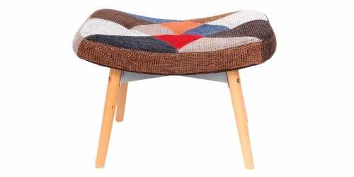 Grant Featherston Contour Ottoman Patchwork FurnitureTables And ChairsStools