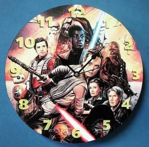 Star Wars Wallclock DécorHome Decorations