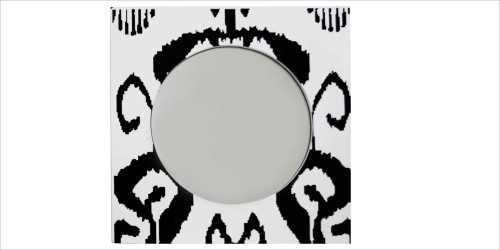Square Mirror Black & White DécorHome Decorations
