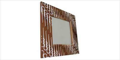 Square Mirror Batik DécorHome Decorations