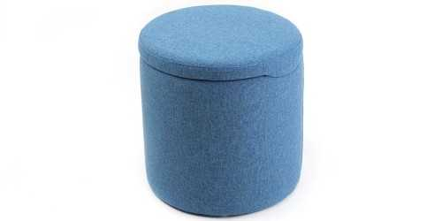 Jabba Storage Mini Ottoman Blue Jay Vienna FurnitureTables And ChairsStools