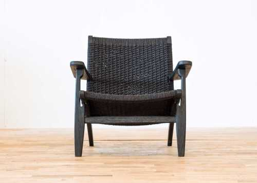 Hans Reclining Lounge Chair Dark Finish FurnitureSofa And ArmchairsEasy Chairs