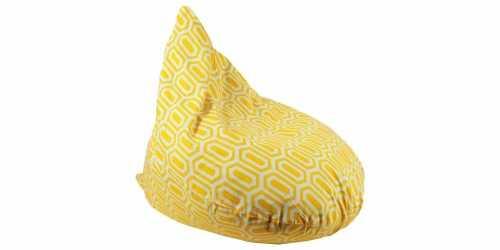 Hexa Beanbag Teardrop Yellow FurnitureSofa And ArmchairsPoufs