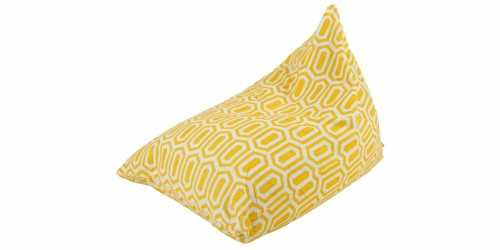 Hexa Beanbag Pizza Yellow FurnitureSofa And ArmchairsPoufs