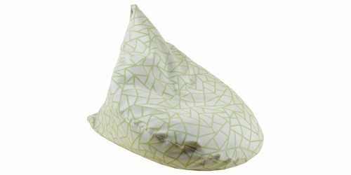 Stone Beanbag Teardrop Lime Green FurnitureSofa And ArmchairsPoufs