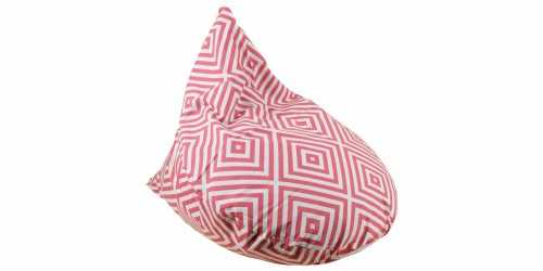 Plaza Beanbag Teardrop Pink FurnitureSofa And ArmchairsPoufs