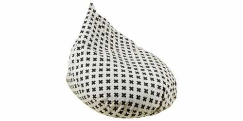 Koji Beanbag Teardrop Grey FurnitureSofa And ArmchairsPoufs