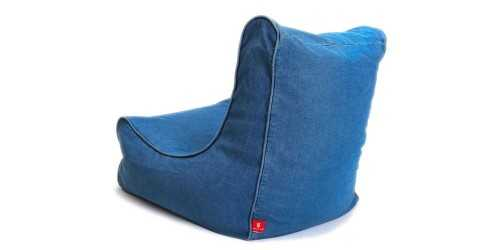 Maison Beanbag Denim Blue FurnitureSofa And ArmchairsPoufs