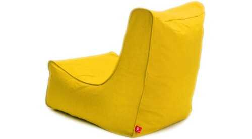 Maison Beanbag Canvas Yellow FurnitureSofa And ArmchairsPoufs