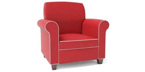 Foto produk  Abbey Kids Armchair Two Tone Red White di Arsitag