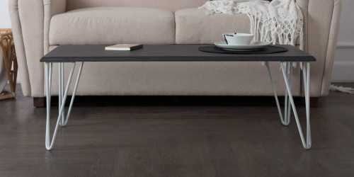 Iris Coffee Table Dark Finish FurnitureTables And ChairsCoffee Tables
