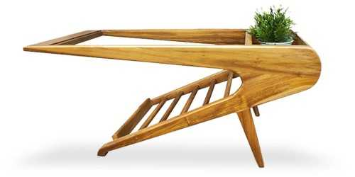 Stewart Coffee Table Natural Finish FurnitureTables And ChairsCoffee Tables