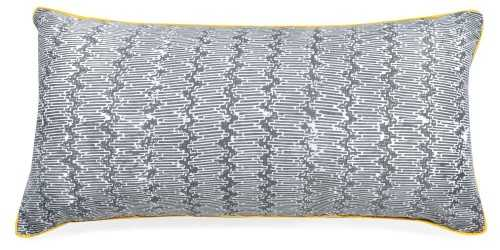 Hem Cushion Cover Long Grey DécorTextiles And RugsCushions