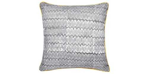 Hem Cushion Cover Square Grey DécorTextiles And RugsCushions