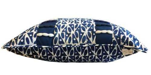 Batik D Tie Dye Cushion Navy Blue DécorTextiles And RugsCushions