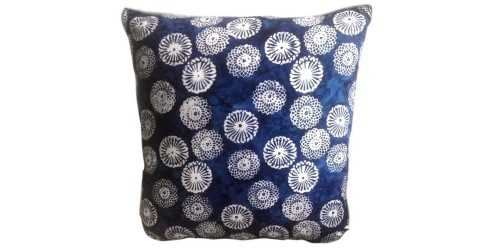 Batik C Tie Dye Cushion Navy Blue DécorTextiles And RugsCushions
