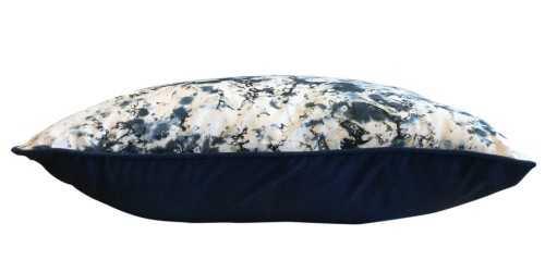 Batik A Tie Dye Cushion Navy Blue DécorTextiles And RugsCushions