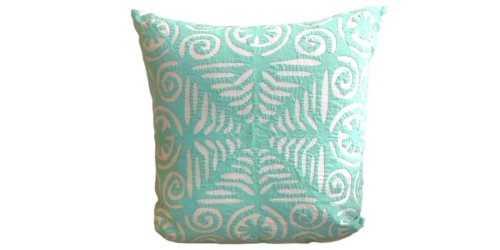 Aplique Cushion Motif 2 Green DécorTextiles And RugsCushions