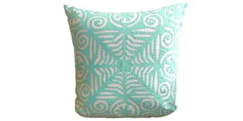 Foto produk Textiles And Rugs Aplique Cushion Motif 2 Green di Arsitag