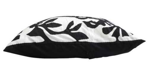 Foto produk Textiles And Rugs Aplique Cushion Motif 1 Black di Arsitag