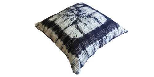 Himeji Cushion Kantha Small DécorTextiles And RugsCushions