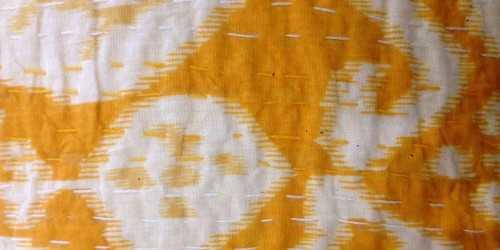 Kantha Cushion Motif 8 Medium DécorTextiles And RugsCushions