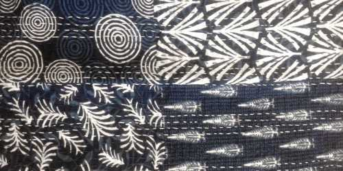 Kantha Cushion Motif 4 Medium DécorTextiles And RugsCushions