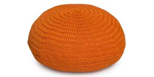 Bolin Mini Pouf Orange FurnitureSofa And ArmchairsPoufs