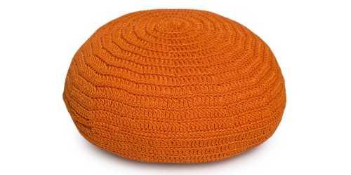 Bolin Mini Pouf Orange FurnitureSofa And ArmchairsPoufs
